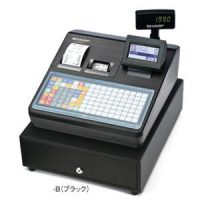 シャープレジスター XE-A417ブラック【ロールペーパー20巻セット】